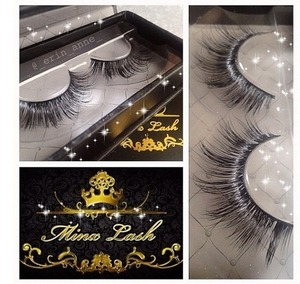 Beautiful BadKitty mink lashes from minxlash.com <3