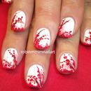 Cherry Blossoms over WHITE