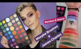 MORPHE X JAMES CHARLES Palette Review & Demo | WILL DOUGHTY