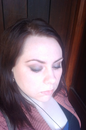 blurry picture of a brown smoky eye