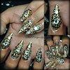 Swarovski crystal covered stilettos