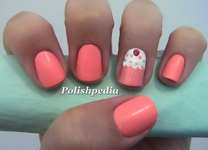 Right after doing this design I went out and visited a cupcake shop. I Love them!