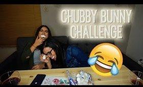 CHUBBY BUNNY Challenge w/ my BFF!!