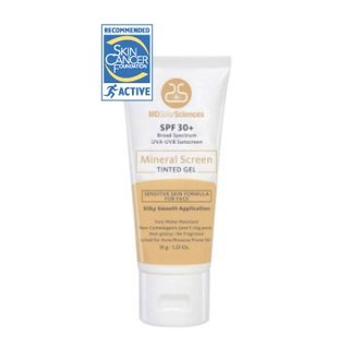 MD Solar Sciences Mineral Screen Tinted Gel SPF 30+