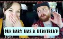 HEARING OUR BABY'S HEARTBEAT, FIRST ULTRASOUND, & EPIC CHRISTMAS TREE LIGHTING! VLOGMAS DAY 1