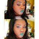 Orange Eyes and Green Lips
