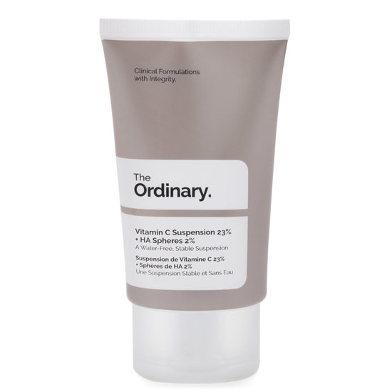The Ordinary. Vitamin C Suspension 23% + HA Spheres 2% product smear.