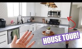 HOUSE TOUR! The BEFORE and AFTER | HelloThalita