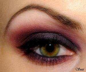 Catrice Eye Brow Stylist, 020 Date With Ash - Ton,  Zoeva Eye Primer,  Zoeva 88 Eyeshadow Palette (88, 1, 62+70, 40),  GOSH Kohl/Eye Liner, Black,  GOSH Serious Volume Mascara