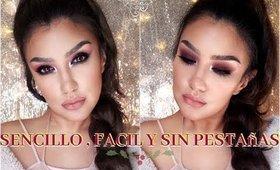 Look para POSADAS colaboracion con MYTZI CERVANTES / Holiday makeup tutorial   auroramakeup