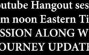 LIVE HANGOUT 12/21/2014 12PM NOON EASTERN