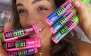 First Impression, Review, & Swatches: NEW Maybelline Colored Mascara!