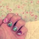 Rainbow Dash Nails