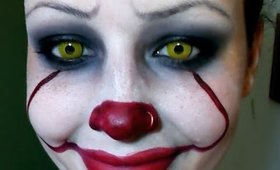 Halloween Series 2017: New Pennywise Clown from IT Makeup Tutorial (Super Easy)