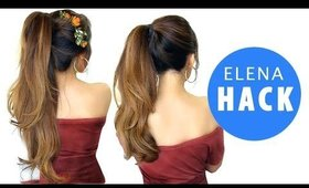 ★ DISNEY ELENA Hairstyle HACK |  Girls CUTE HAIRSTYLES