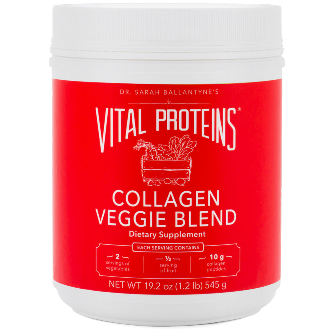 Vital Proteins Collagen Veggie Blend product swatch.