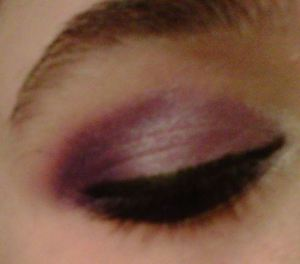Purple is one of my favorite colors..and purple was my ex's fav color..so i did this look for him. its just lighter and darker purple..