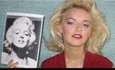 Marilyn Monroe Makeup & Hair using SAFE Cosmetics | Naturesknockout.com
