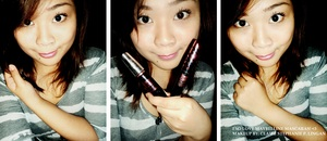 DOLLY EYES WITH LONG LASHES USING MAYBELLINE MASCARAS. :)