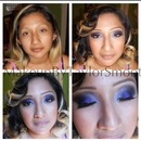 Purple Haze   Wedding Makeup