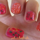 Hawaiian Spring Nail | Tutorial