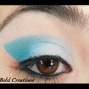 Teal Cat Eye