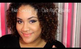 Blue Smokey Eye l Club Night ♡ Mimi La Tigresse
