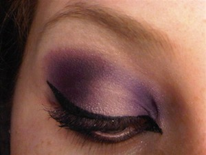 Purple Flurp sounds interesting, doesn't it? http://themakeupbloggers.blogspot.com/2012/11/purple-flurp-holiday-look-5.html