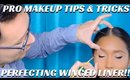 PERFECTING WINGED LINER USING THE BEST MAKEUP BRUSHES & TECHNIQUES - mathias4makeup