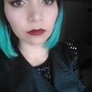 Neutral Eyes & Red Lip