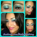 Colorful Makeup Look pt 1