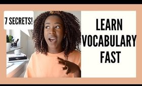 How To Memorize Vocabulary Fast And Easily