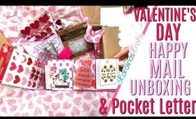 Valentines Day Happy Mail Unboxing from Serena Bee, DAY 13 of 14 Days of Crafty Valentines Day