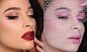 💗Dwa makijaże w Walentynkowym klimacie 💗