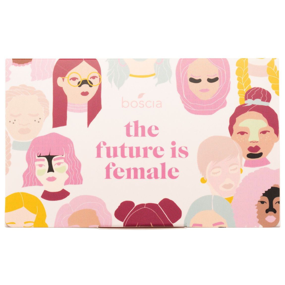 boscia The Future Is Female Blotting Linens product smear.