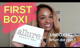 My First Allure Beauty Box Unboxing