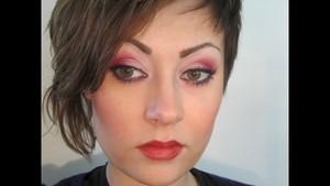 Inglot Cherry Blossom Inspired Look