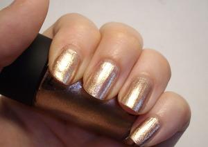 MAC nail polish in Soiree.  One coat.