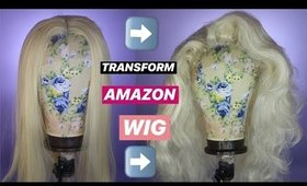 DIY TRANSFORM CHEAP AMAZON WIG | In Depth Wig Styling, Teasing, Roller Set | SHOP WILL BEAUTY