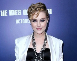 "Evan Rachel Wood Makeup, ""Ides of March"" Los Angeles Premiere"