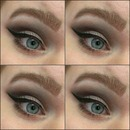 Cat eye with pin up liner.