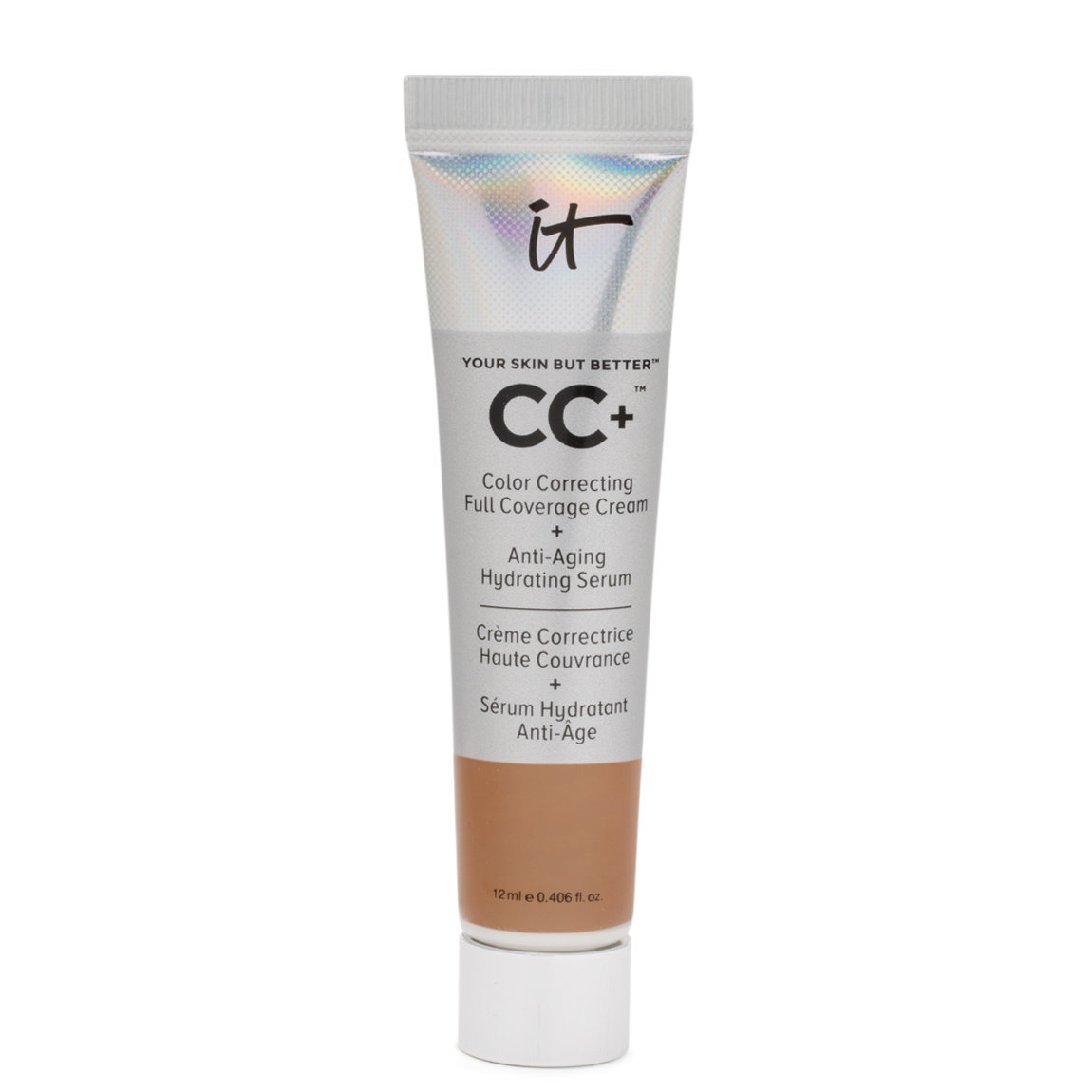 IT Cosmetics  CC Cream with SPF 50+ Travel Size Rich