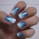 Spindrift Nail With Glitter