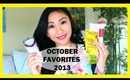 October Favorites 2013!