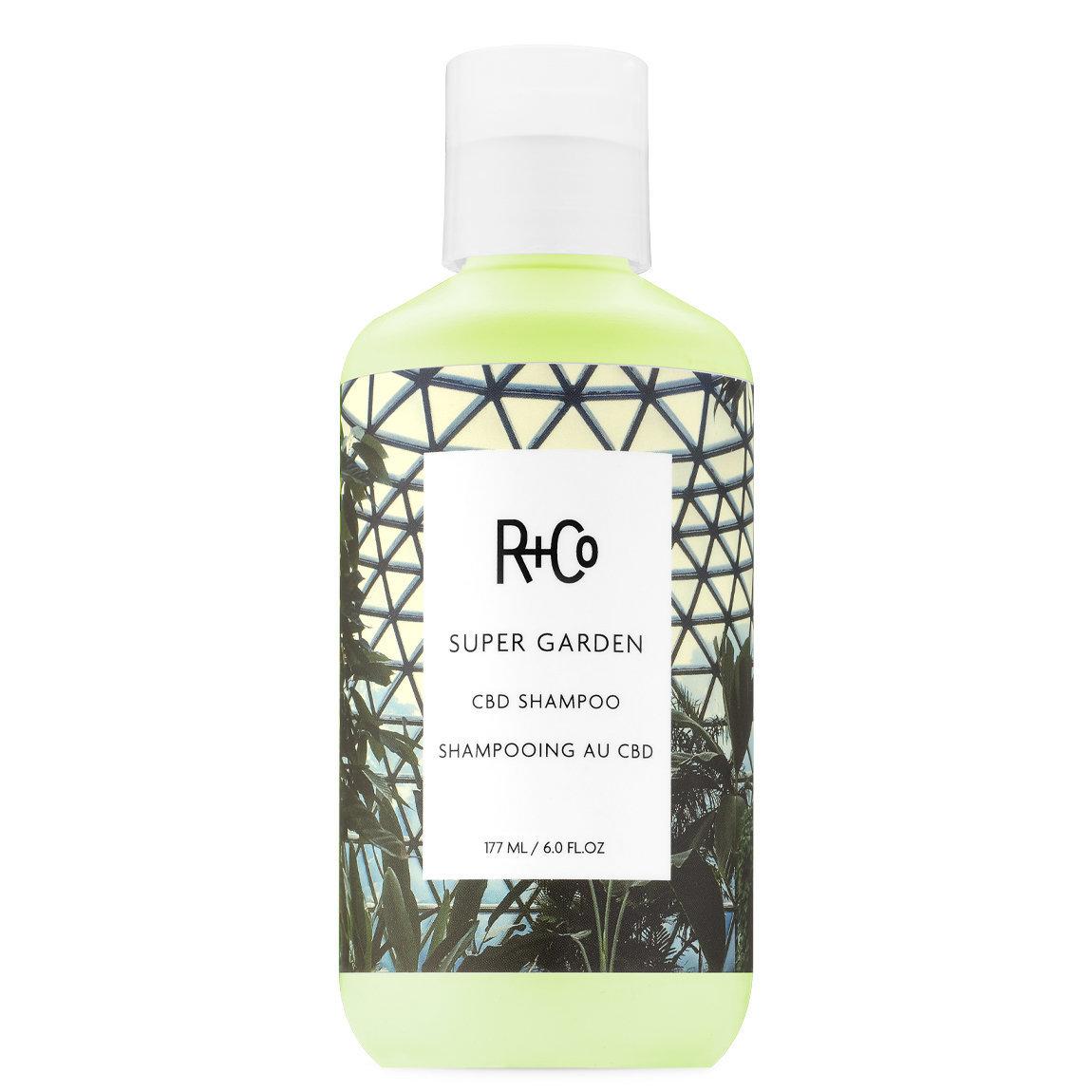 R+Co Super Garden CBD Shampoo alternative view 1 - product swatch.