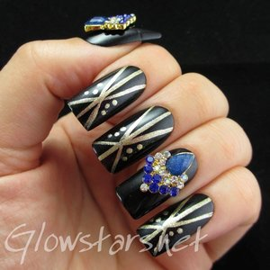 Read the blog post at http://glowstars.net/lacquer-obsession/2014/06/featuring-born-pretty-store-rhinestone-crown-nail-decorations/