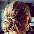Boho Bun 2...by Calista Brides Hair & Makeup Artistry