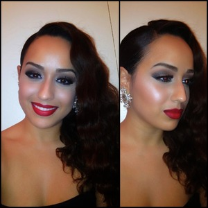 Last night's makeup look: glam + Sultry Glamour ❤  Subscribe to my channel for video tutorials: http://YouTube.com/Joleposh   For bookings & business inquiries contact me at: BookMe@Joleposh.com