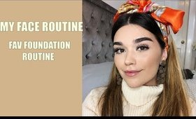 MY CURRENT FACE/FOUNDATION ROUTINE