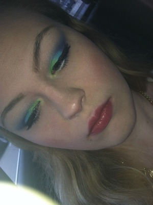 Could be a mermaid look or spring/summer look.. Idk haha